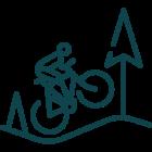 Bacówka Jamna. Szlaki rowerowe