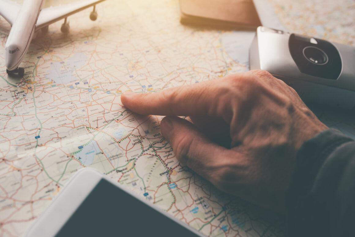 Bacówka Jamna. Mapa. Planowanie podróży