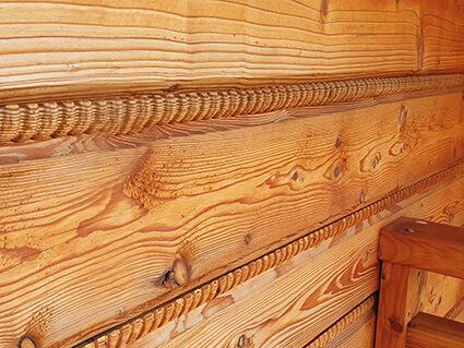 Bacówka Jamna. Materiał drewno. Dom weselny